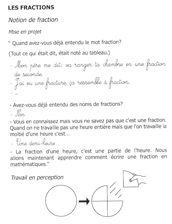 Page 70 Les fractions (1)